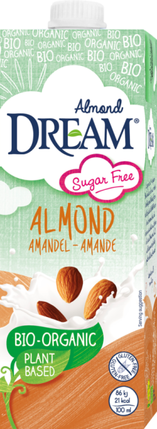 Dream Organic Almond Drink sugar free