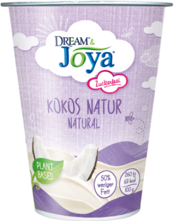Dream & Joya Alternative au yaourt à la Noix de coco Nature