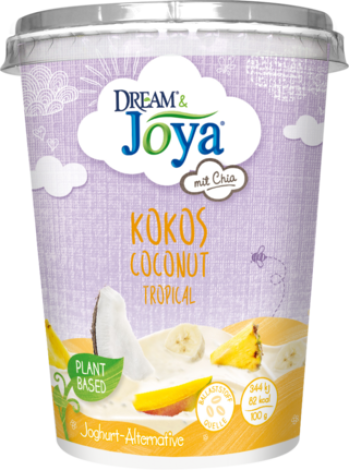 Dream & Joya Coconut-Chia Yogurt Alternative Tropical